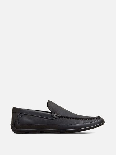 Lap of Luxury Slip-On Loafer, BLACK