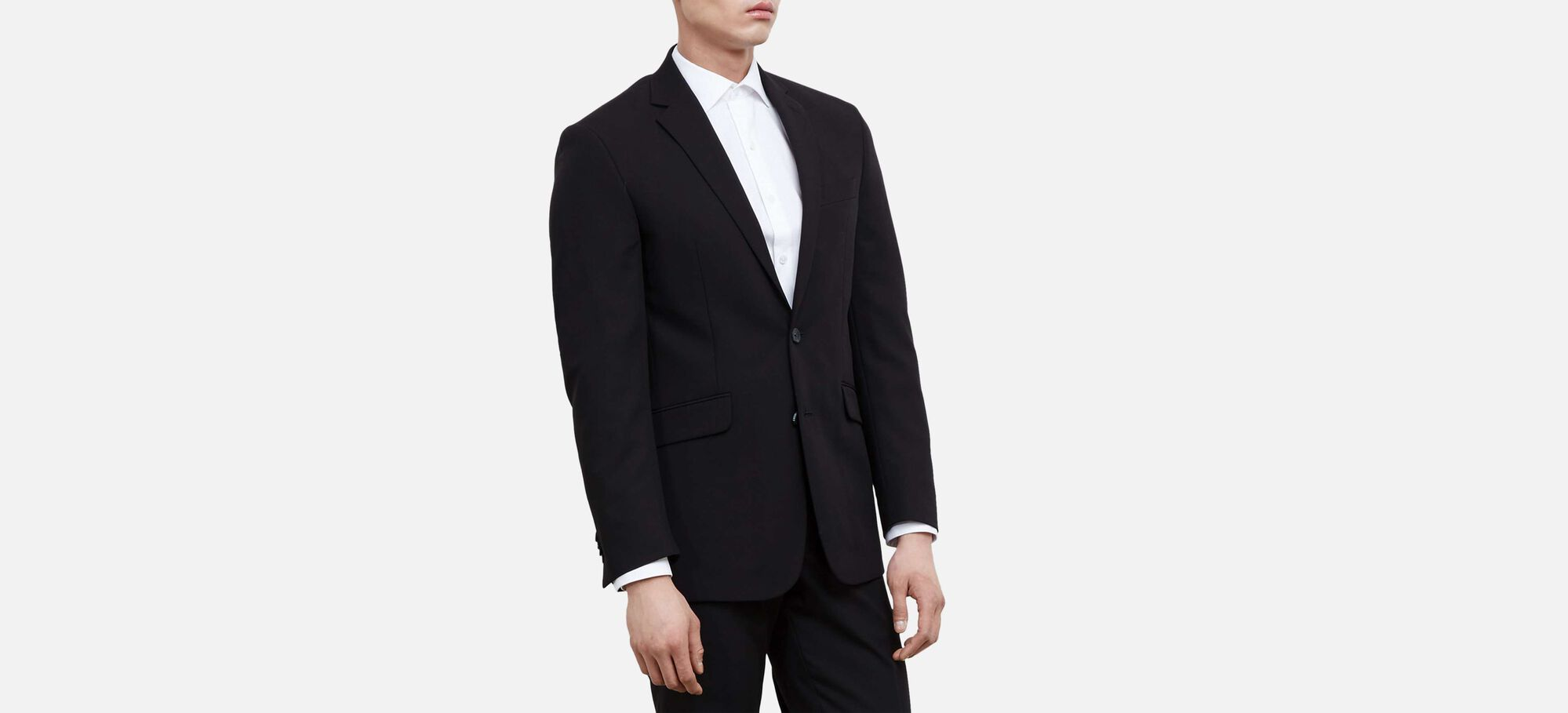 Slim-Fit Notch-Lapel Suit Jacket, , hi-res