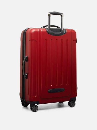 Renegade 28 Inch Expandable Upright Suitcase, RED