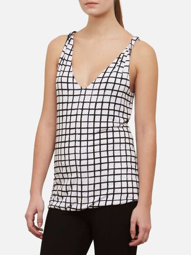 Double Layer Twist Tank, CITY GRID