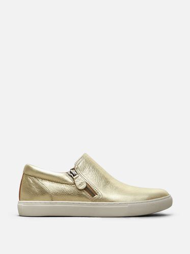 Lowe Leather Sneaker, SOFT GOLD