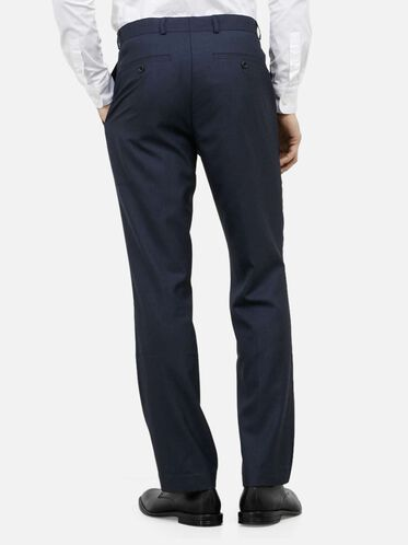 Slim-Fit Suit Pant, 421BLUE, hi-res