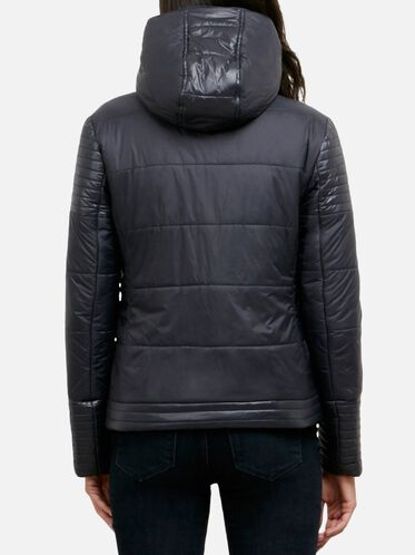 Puffer Jacket With Removable Hood, BLACK, hi-res