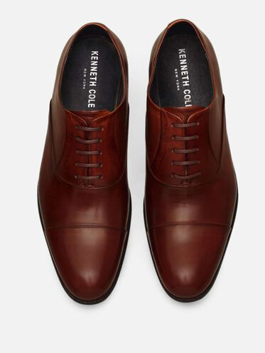 Chief Council Leather Oxford, COGNAC