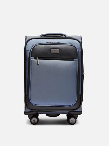 20 Inch Class Transit 8-Wheel Carry-On Suitcase, BLUE