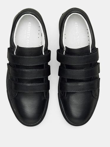 KINGVEL LOW-TOP SNEAKER, BLACK