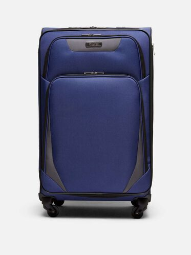 28 Inch Going Places 4-Wheel Suitcase, NAVY