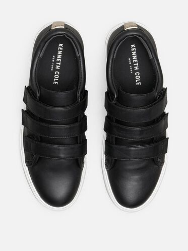 KINGVEL LOW-TOP SNEAKER, BLACK/WHITE, hi-res