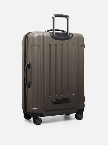 Renegade 28 Inch Expandable Upright Suitcase, SILVER