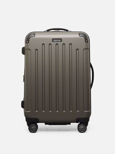 Renegade 24 Inch Expandable Upright Suitcase, SILVER, hi-res