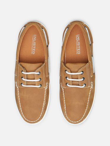 Boat-Ing License Boat Shoe, TAN