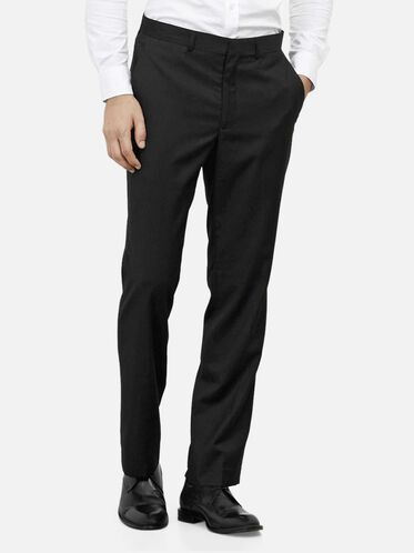 Slim-Fit Suit Pant, BLACK