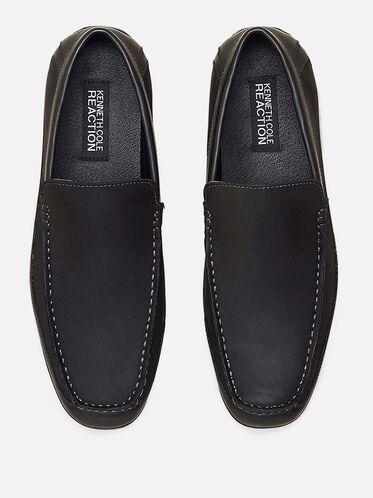 Lap of Luxury Slip-On Loafer, BLACK