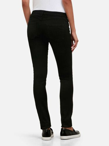 Black Skinny-Fit Stretch Denim, BLACK/B015