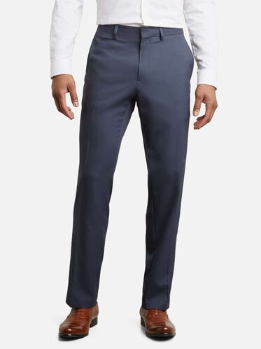 Straight-Fit Stretch Dress Pant, NAVY