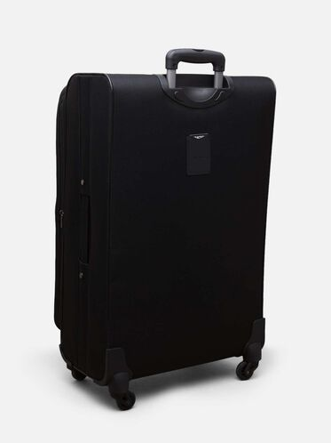 28 inch Excursion 2.0 4-Wheel Suitcase, BLACK