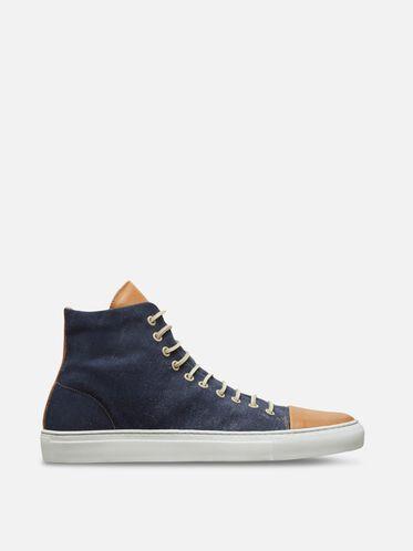 Good Sport Leather Sneaker, NAVY