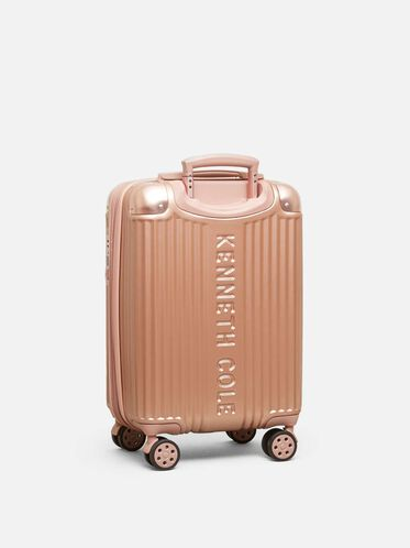 20 inch Tribeca Expandable Upright Carry-on Suitcase, ROSE GOLD
