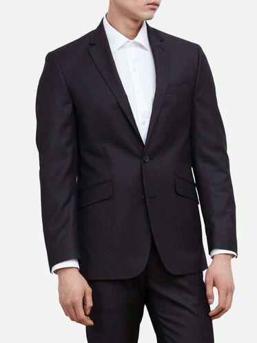 Slim-Fit Suit Jacket, 017CHARCOA
