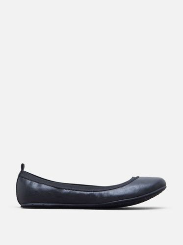 Whole Truth Ballet Flat, BLACK