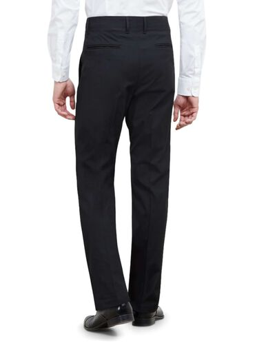 Techni-Cole Performance Knit Pocket Dress Pant, BLACK