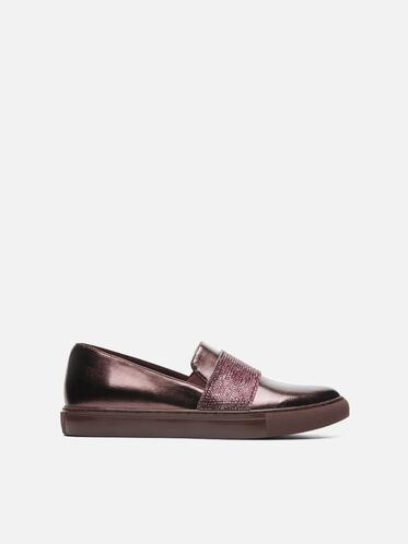 Kam Jewel Slip-On Sneaker, BURGUNDY