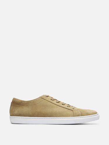 Mens Kam Suede Sneaker, CAMEL