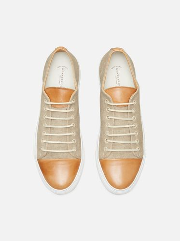 Sport Car Low-Top Sneaker, SAND