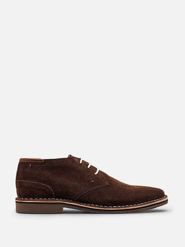 Desert Sun Suede Oxford, CHOCOLATE