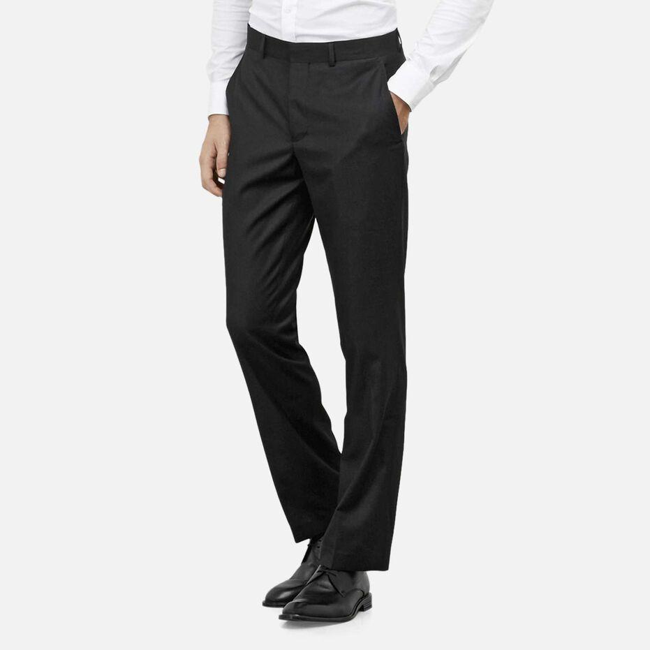Slim-Fit Pin-Dot Suit Pant, , hi-res