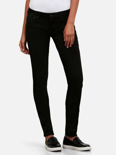 Black Skinny-Fit Stretch Denim, BLACK/B015, hi-res