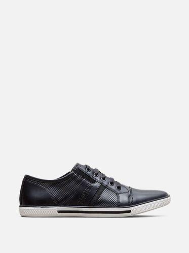 Crown-ed King Low Top Sneaker, BLACK