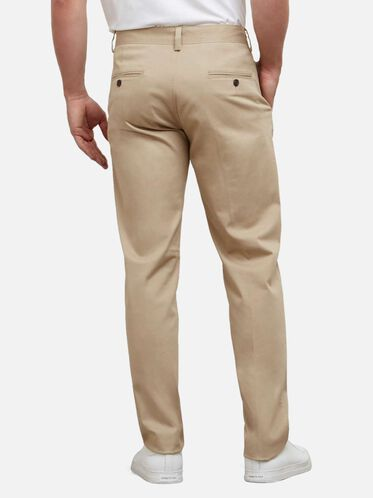 Slim-Fit Sustainable Chino Pant , KHAKI