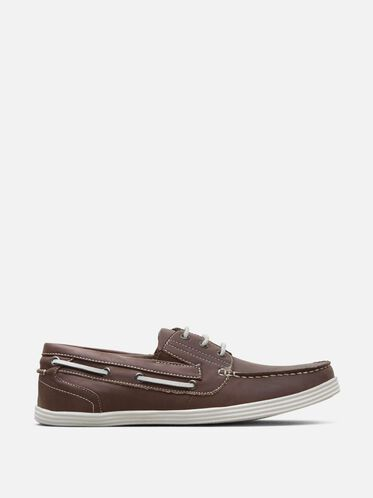 Boat-Ing License Boat Shoe, BROWN