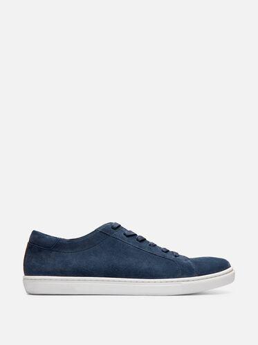 Mens Kam Suede Sneaker, STEEL