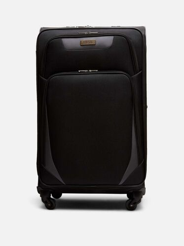28 Inch Going Places 4-Wheel Suitcase, BLACK