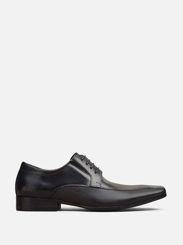 Bro-tential Leather Oxford, BLACK
