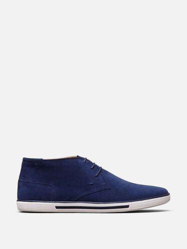 Many Crown-S Sneaker, NAVY
