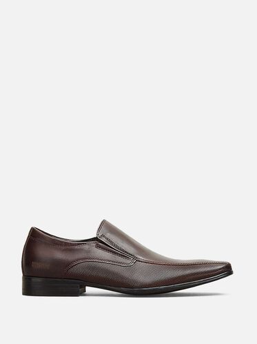 Bro-cabulary Leather Loafer, BROWN