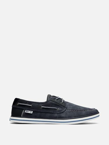 Prize Winner Canvas Boat Shoe, NAVY