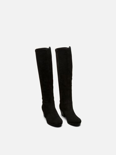 Pil-Anthropy Tall Boot, BLACK