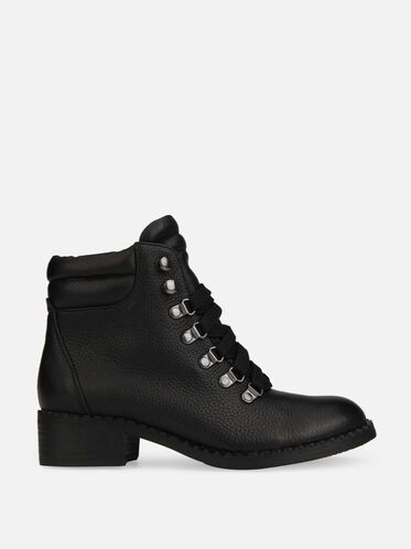 BROOKLYN LACE-UP BOOT, BLACK, hi-res