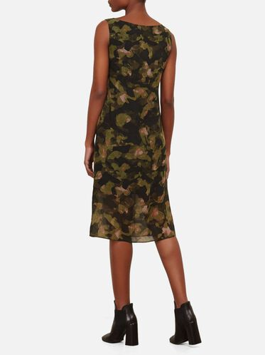 Overlay Column Dress, CITY CAMO