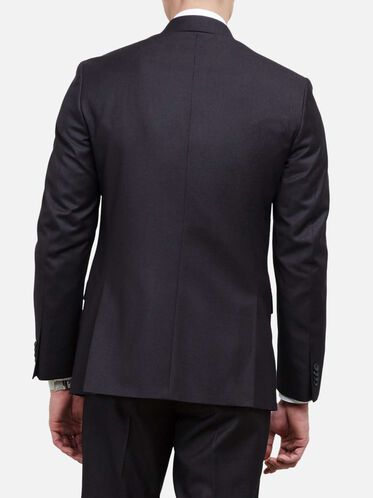 Slim-Fit Suit Jacket, 017CHARCOA