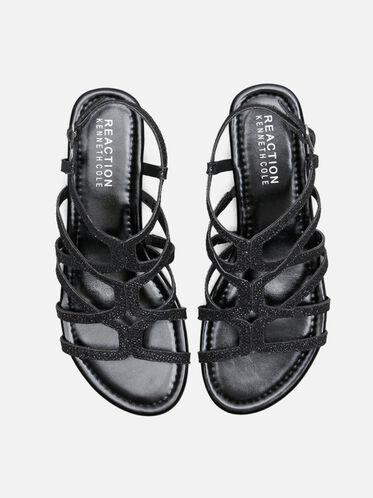 Color Number Ankle Strap Sandal, BLACK, hi-res