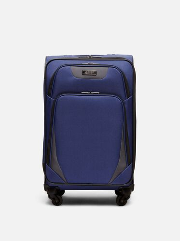 24 Inch Going Places 4-Wheel Suitcase, NAVY