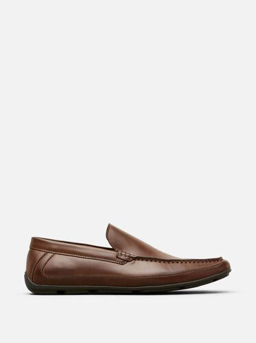 Lap of Luxury Slip-On Loafer, COGNAC