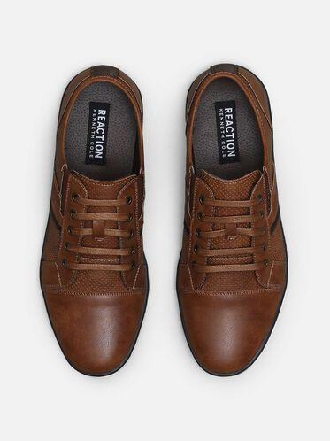 Crown-ed King Low Top Sneaker, COGNAC