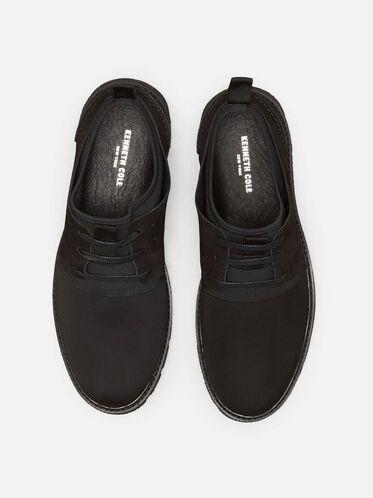 Broad-Way Nubuck Sneaker, BLACK