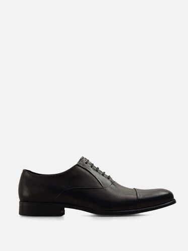 Chief Council Leather Oxford, BLACK